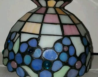 Vintage Floral Tiffany Style Lamp Shade