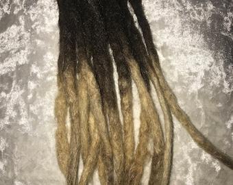 "Dreadlock extensions 100% human hair 8""10"""
