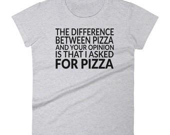 Pizza Women's short sleeve t-shirt