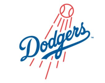 Dodgers LA decal / Dodgers LA Sticker. Made in USA.
