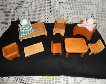 SET of small furniture for Doll House