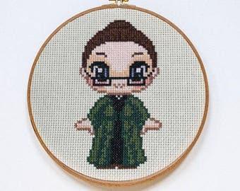 Minerva McGonagall Cross Stitch Pattern