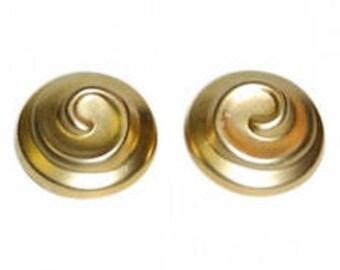 "Vintage NINA RICCI clip Earrings model ""Le Teint de Ricci"""