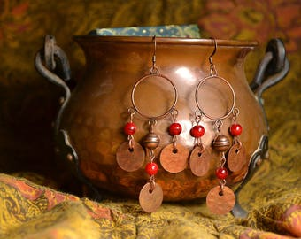 "ethnic earrings ear ""incantations of the witch"""