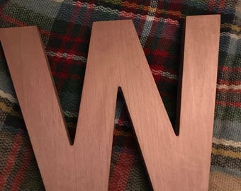 Wooden Letter Large or Medium
