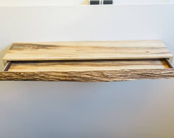LaPlanque-solid wood drawer shelf