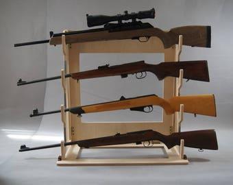 Gun rack , rifle rack ,display,mens ,gifts ,sword display