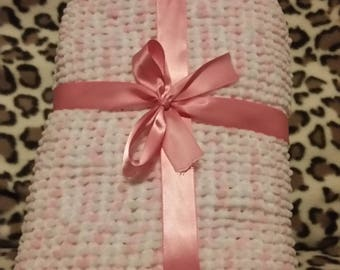 Handmade Knitted Baby Blankets