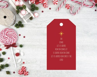 Christmas gift tags, printable gift tags, holiday gift tags, Christmas tags, holiday tags, printable tags, gift label, gift tags
