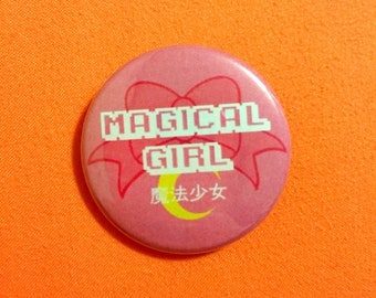 Magical Girl Button