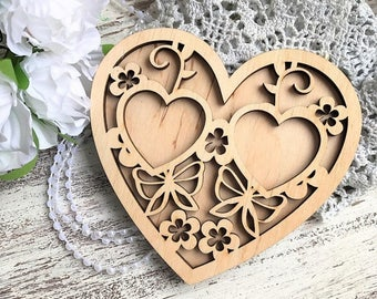 Rustic Wedding Ring Wood Wedding Ring Holder Wedding Ring Pillow ring holder Wood wedding ring bearer pillow alternative Wood For Ceremony