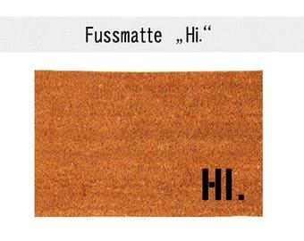 HI. Coco - mat carpet door mat 40 x 60 cm