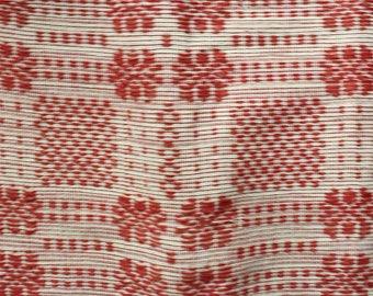 Handwoven Blanket from Ilocos, Philippines (Brocade, Queen Size)