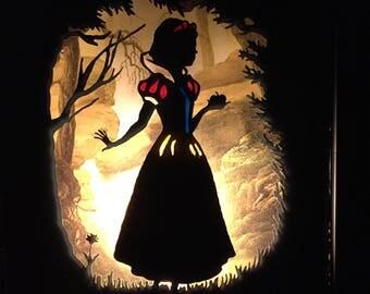 Snow White Light Box