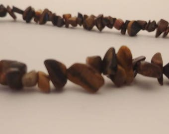 Handcrafted Tiger's Eye Healing Necklace
