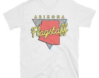 Flagstaff Arizona T Shirt Vintage AZ Triangle