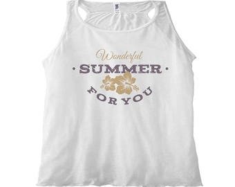 Women's Tank Top Wonderful Summer