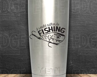 Rather Be Fishing Vinyl Decal