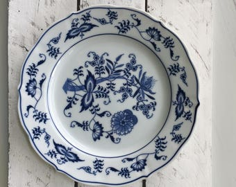 Blue Danube Luncheon Plate