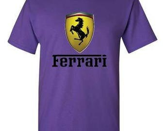 Ferrari Purple T-Shirt