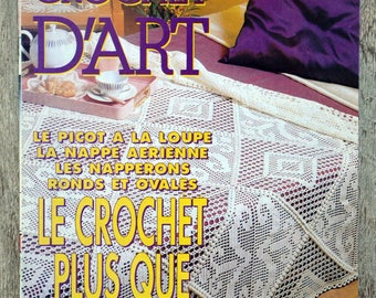 Magazine knitting selection - Crochet art - 182