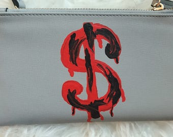 Bleeding Dollar Sign Wallet