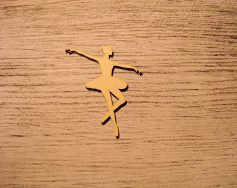 the dancer 1197 embellishment wooden creations