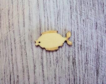Fish wooden Littles 1143
