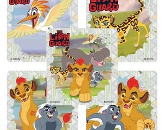 "25 Lion Guard Stickers, 2.5"" x 2.5"" Each"