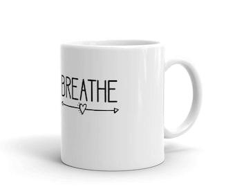 Breathe Birth Support Midwife Doula Gift Mug