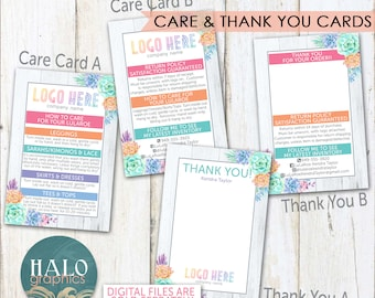 Consultant Care & Thank You Cards - Succulents