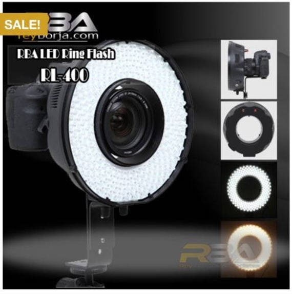 RBA RL 400 Photo Booth LED Ring Light With Continuous