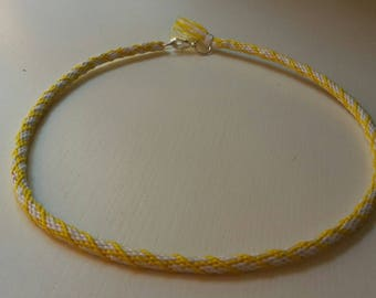 Handmade Kumihimo necklace