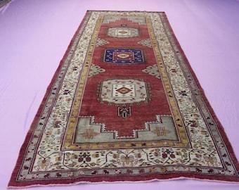 5' x 12' feet Turkish Oushak Rug, Handmade Turkish Area Rug, Decorative Turkish Rug