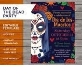 Halloween Party Invite, D...