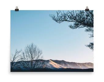 Smokey Mountain Landscape Print