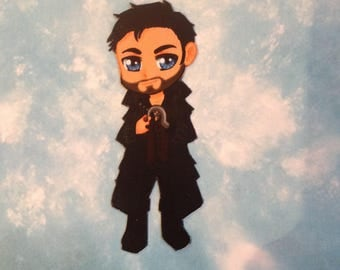 Magnet Captain Hook from Once Upon A Time
