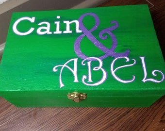 Cain and Abel Story Box