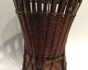 Philippine Antique Bamboo Basket