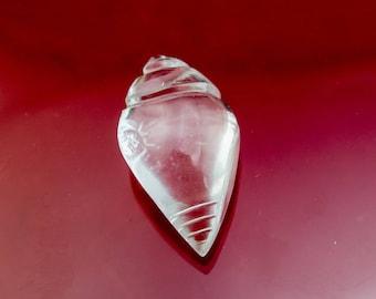 Quartz Conch Shell, Vastu / Feng Shui, Crystals, energy balance