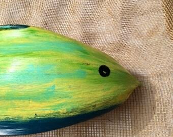 Palm Frond Fish - mahi mahi