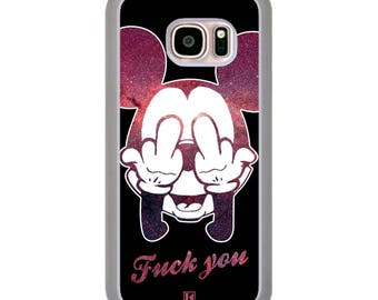 Galaxy S7 case - Mickey fuck you