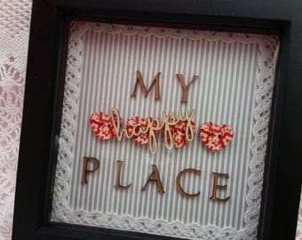My happy place frame