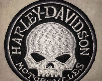 Skull motorcycle patch design fashion designer tribe pack