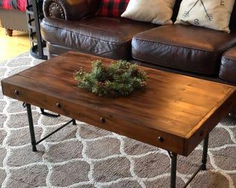 Rustic Farmhouse Multi Purpose Folding Table