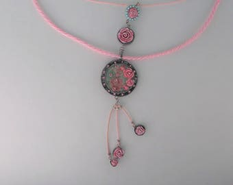 Original Necklace with Roses