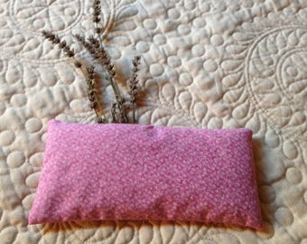 Organic Flax Seed and Lavender Eye Pillow