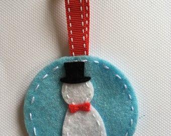Snowman christmas decoratiom