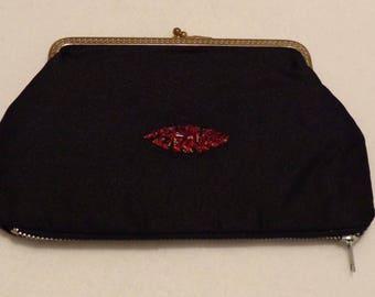 Vintage 40's Evening Clutch purse