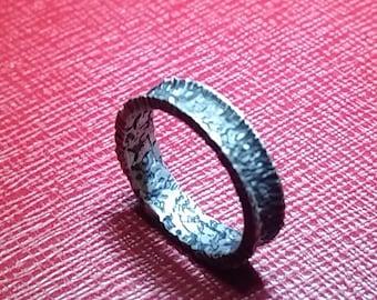 Handmade Unique Silver Ring